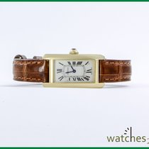 Cartier Tank Americaine 19 x 35 mm 750 Yellow Gold
