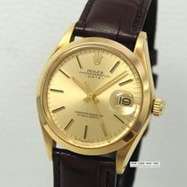 Rolex Oyster Perpetual Date Just 18k/750 Gold