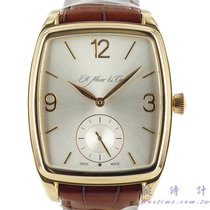 H.Moser & Cie. Henry Double Hairspring Oro rosado 38.5mm Plata Árabes
