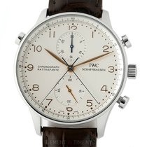 IWC Portuguese Chronograph IW3712-02 1995 pre-owned