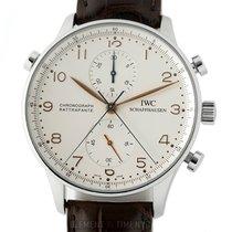 IWC Portugieser Chronograph IW3712-02 gebraucht