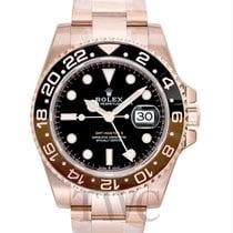 Rolex Oro rosa Automático Negro 40.00mm nuevo GMT-Master II