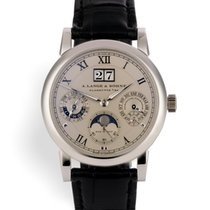 A. Lange & Söhne 310.025 S Langematik Perpetual - Platinum...