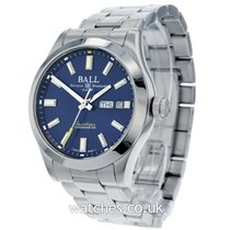 Ball 40mm Automatic 2018 pre-owned Engineer II (Submodel) Blue