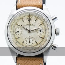 Rolex Chronograph Aço 36mm Branco