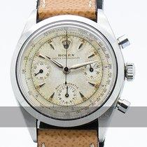 Rolex Chronograph Ατσάλι 36mm Άσπρο