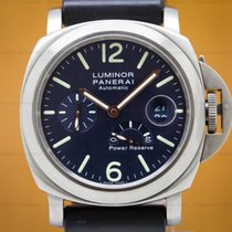 Panerai PAM00093 Luminor Power Reserve Titanium Blue Dial 44MM...