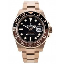 Rolex Ceramic Automatic Black No numerals 40mm new GMT-Master II