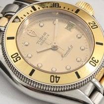 Tudor usados Cuarzo 27mm Oro Cristal de zafiro