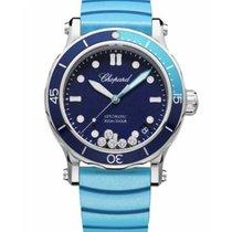Chopard Happy Diamonds Steel 40mm Blue