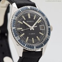 Benrus Steel 37mm Manual winding pre-owned