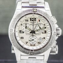 Breitling Emergency Steel 45mm White Arabic numerals United States of America, Massachusetts, Boston