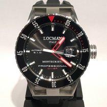 Locman Montecristo Steel 44mm Black No numerals