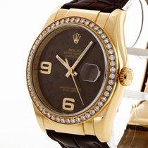 Rolex Datejust Oro amarillo 36mm Marrón
