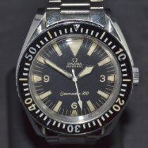 Omega Seamaster 300 Çelik 42mm Siyah Sayılar yok