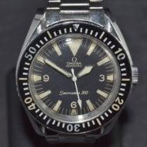 Omega Seamaster 300 Steel 42mm Black No numerals