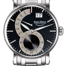 Bruno Söhnle Steel 43mm Quartz 17-13073-782 new