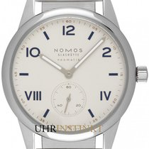 NOMOS Club Campus Neomatik Staal 39.5mm Wit