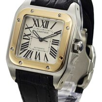 Cartier Santos 100 33mm Silver United States of America, California, Beverly Hills