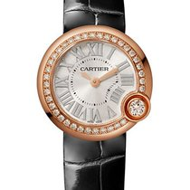 Cartier Ballon Blanc Oro rosado 26mm