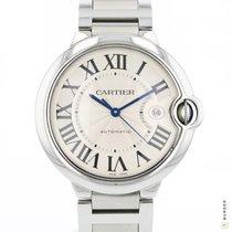 Cartier Ballon Bleu 42mm Steel 42mm Silver Roman numerals