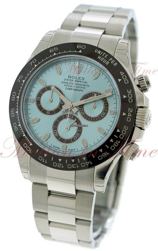 24c218f6064 Rolex Daytona Platinum - all prices for Rolex Daytona Platinum watches on  Chrono24