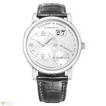 A. Lange & Söhne Lange 1 Platinum Crocodile Leather Men`s Watch