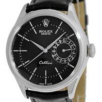 """Rolex """"Cellini Date"""" Strapwatch."""