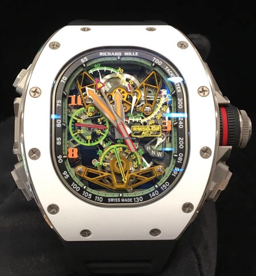Richard Mille Tourbillon Split Second Chrono Airbus Corp Jets For 839 000 For Sale From A