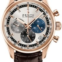 Zenith El Primero Chronomaster Rose gold 38mm Silver United States of America, New York, Airmont