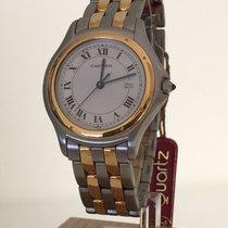 Cartier Cougar neu Quarz Nur Uhr CARTIER W35006B6