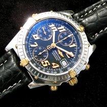 Breitling Chronomat Chronometer Vitesse Black Dial B 13350...
