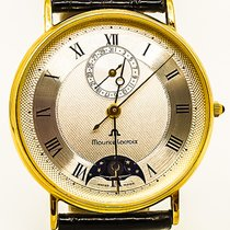 Maurice Lacroix Masterpiece Moonphase 18K Solid - Box &...