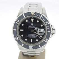 勞力士 (Rolex) Submariner Date Steel Black 40mm (BOXonly1991) MINT