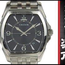 Seiko Credor Signino Pacific Diamond Quartz Wrist Watch...