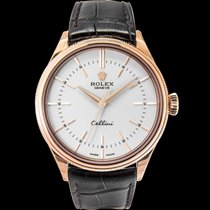 Rolex Rose gold Automatic White 39mm new Cellini Time