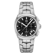 TAG Heuer Link CBC2110.BA0603 Tag Heuer Link Automatico Acciaio Nero 41mm new