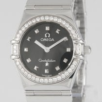 Omega Constellation My Choice Black Dial 1465.51.00