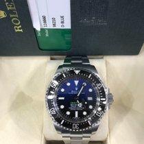 Rolex 44mm Automatic 2014 pre-owned Sea-Dweller Deepsea Black