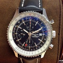 Breitling Navitimer World Black Dial - Box & Papers 2015