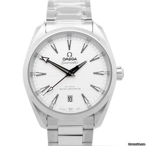 ffc2d14a8 Omega Seamaster AQUA TERRA 150M Co-Axial Silver Dial 38mm for $4,933 for  sale from a Trusted Seller on Chrono24