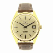 Longines Yellow gold 36mm Automatic Admiral pre-owned