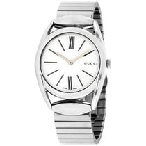 Gucci Horsebit Steel 34mm White Roman numerals United States of America, New York, Brooklyn