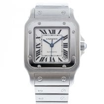 Cartier Santos Galbée Steel 32mm Silver United States of America, Georgia, Atlanta