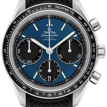 Omega Speedmaster Racing Acero 40mm Azul