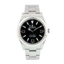 Rolex Explorer Steel 39mm Black United States of America, New York, New York