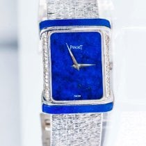 Piaget White gold 34mm Manual winding pre-owned