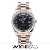 Rolex Day-Date II 218239 2015 tweedehands