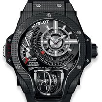 Hublot MP-09 Koolstof 49mm Doorzichtig