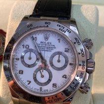 Rolex Daytona 116519 Très bon Or blanc 40mm Remontage automatique